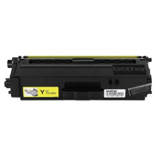 Brother TN-336Y High-Yield Yellow Toner Cartridge