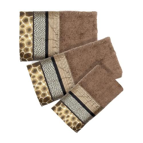 Safari Stripes 3-pc. Bath Towel Set