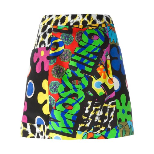 MOSCHINO Printed A-Line Skirt