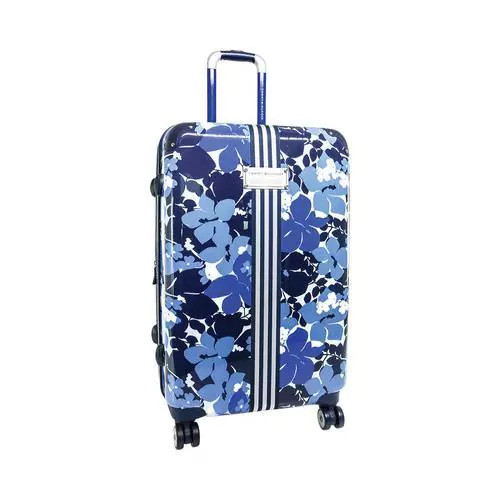 Tommy Hilfiger Wheeled & Checked Luggage Tommy Hilfiger Floral 25in Upright Blue