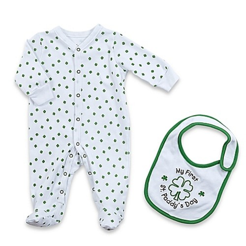 Sterling Baby Newborn 2-Piece My First St. Paddy's Day\