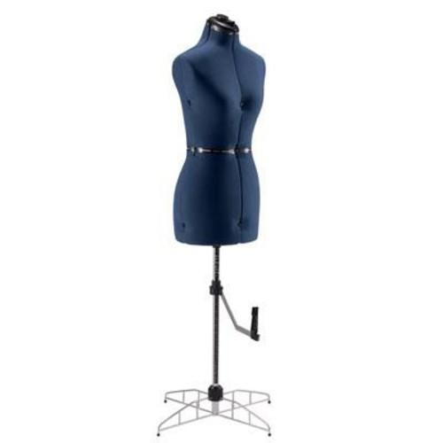 Singer Small/Medium Adjustable Dress Form (DF250BL)