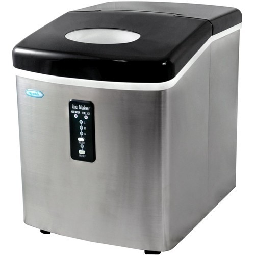 Air - Portable Ice Maker - Stainless Steel
