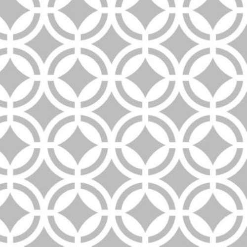 Stencil Ease 19.5 in. x 19.5 in. Verona Tile Wall and Floor Stencil