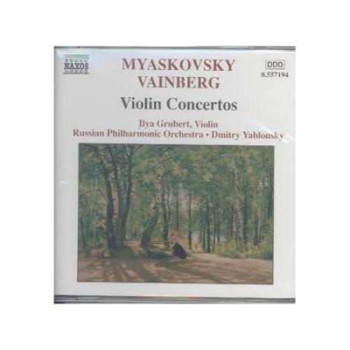 Myaskovsky & Vanburg: violin Ctos CD (2004)