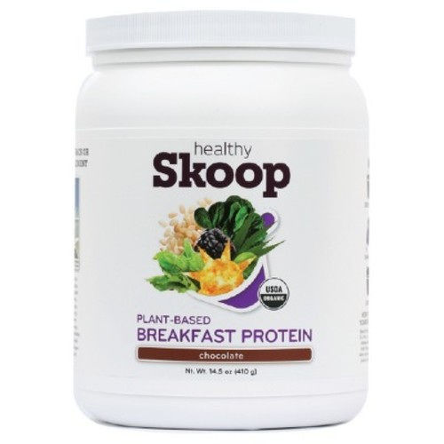 Healthy Skoop Organic Protein Powder - Chocolate - 15.9oz