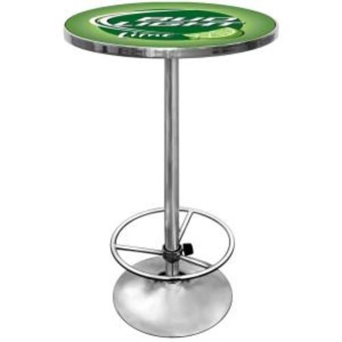 Trademark Bud Light Lime Chrome Pub/Bar Table