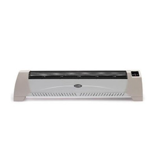 Lasko Low-Profile Heater with Digital Display Silent Convection Heating Element Black 1500W