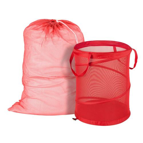 Honey-Can-Do Mesh Laundry Bag & Hamper Kit