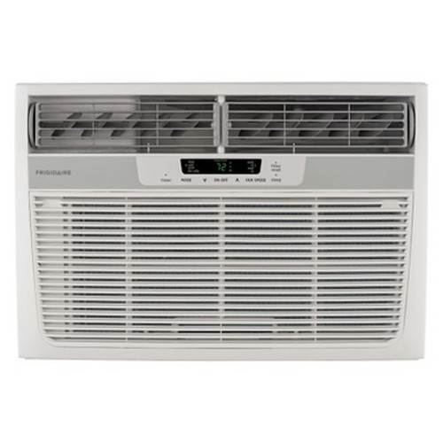 Frigidaire - 12000-BTU 230V Compact Slide-Out Chassis Air Conditioner with Supplemental Heat - White