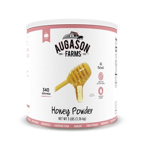 Augason Farms Honey Powder 48 oz No.10 Can