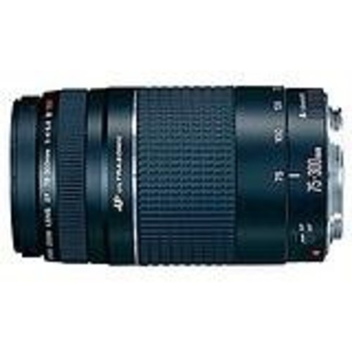 Canon EF 75-300mm f/4-5.6 III USM Telephoto Zoom Lens for Canon SLR Cameras [Standard Packaging]