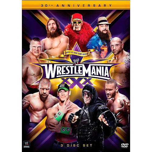 WWE: WrestleMania 30 3-Disc DVD Set