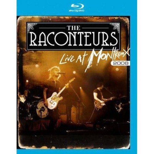 The Raconteurs: Live at Montreux 2008 [Blu-ray] WSE DD5.1/2/DHMA