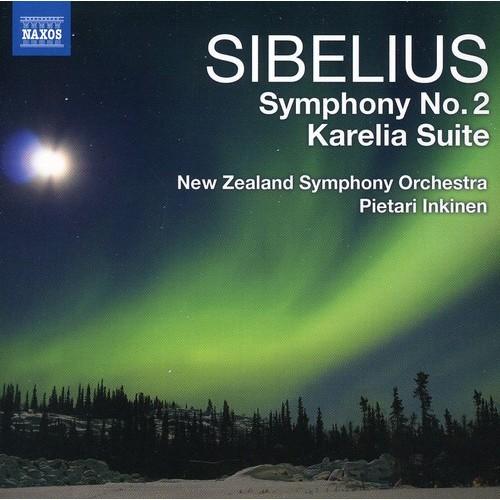 Sibelius: Symphony No. 2; Karelia Suite [CD]