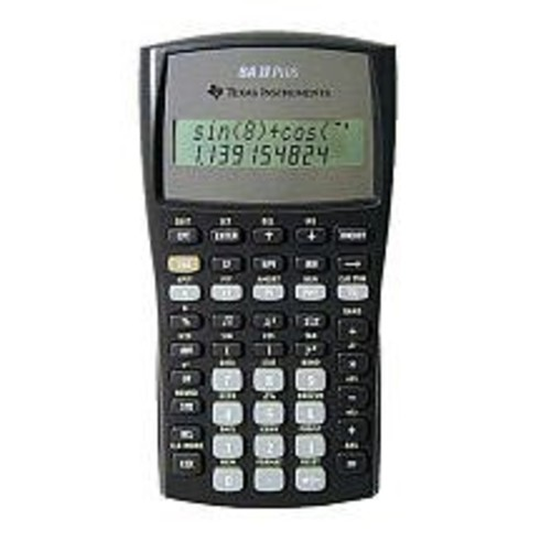 Texas Instruments BA II Plus Financial Calculator [Black]