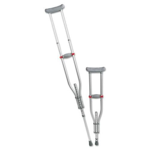 Medline MDS80540 Quick-Fit Aluminum Crutches: Health & Personal Care
