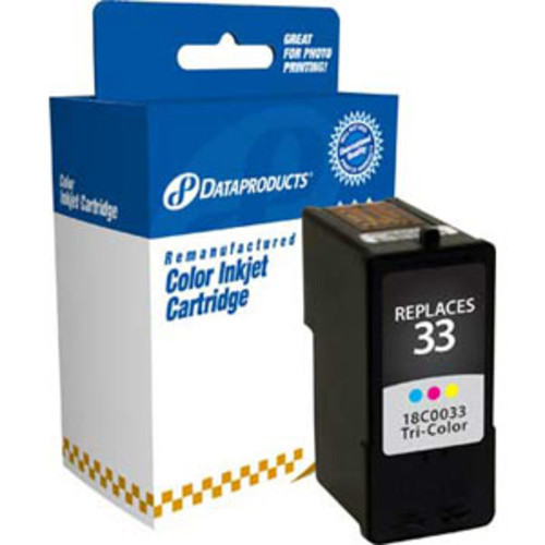 Dataproducts Lexmark Remanufactured #33 (18C0033) Color Ink Cartridge