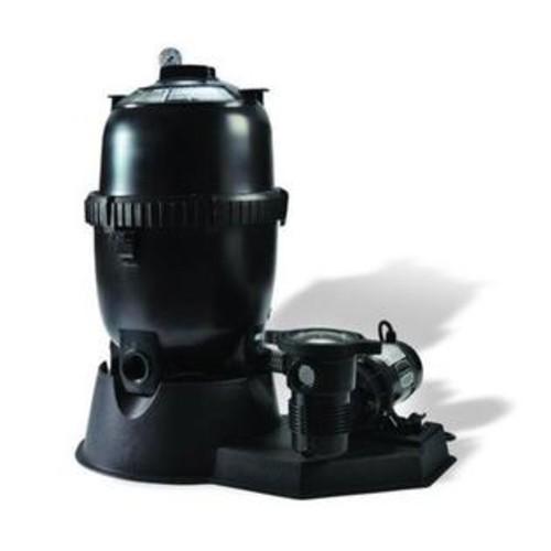 Pentair Sta-Rite SRPLM150of1160 PLM-Series Aboveground Modular Media Cartridge Filter System with 1-1/2 HP OptiFlo Pump