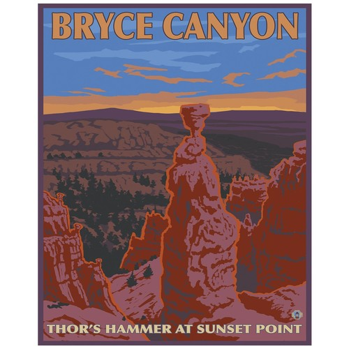 Portfolio Arts Group Bryce Canyon National Park Sunset Point Print - 16x20
