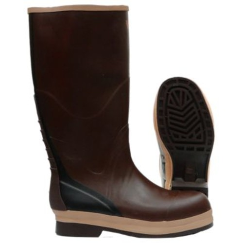 Viking NBR Rubber Boot, Non-Safety, Brown (VW29-10)