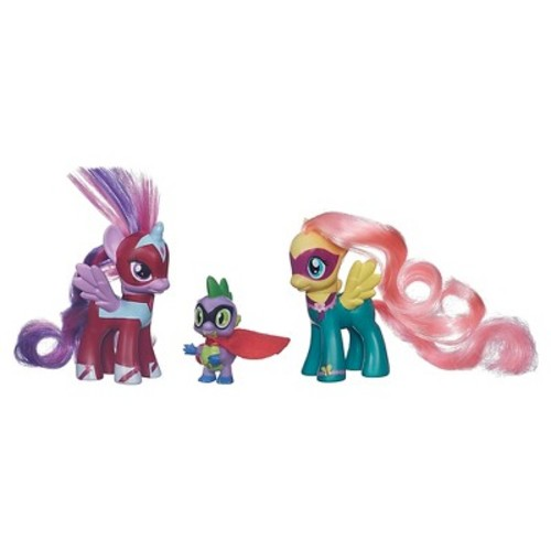 My Little Pony 2-Pack with Spike the Dragon Figure