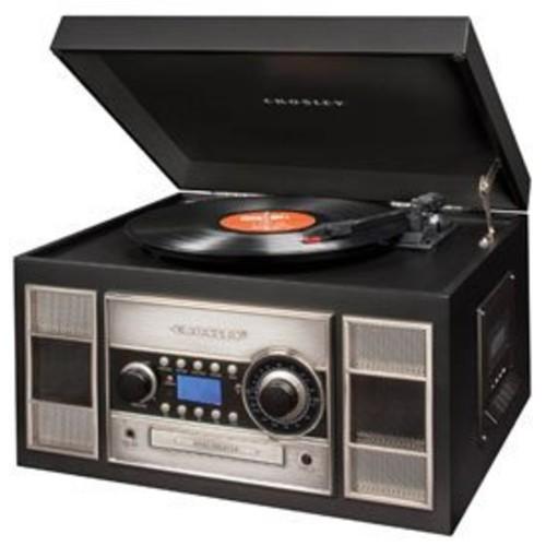 Crosley Radio Memory Master II CD Recorder - Black