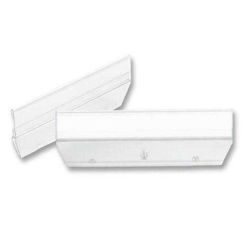 Smead 64626 Easy Slide Hanging Folder Tab 1/3 Tab 3 1/2 in Clear 18/Pack