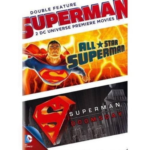 Superman Double Feature: All Star Superman/Superman - Doomsday [2 Discs] [DVD]