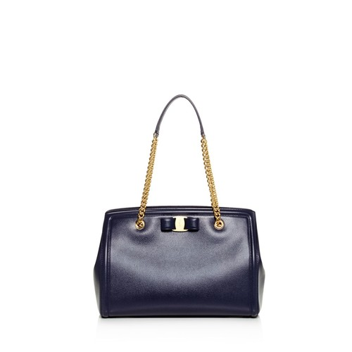 SALVATORE FERRAGAMO Melike Leather Tote