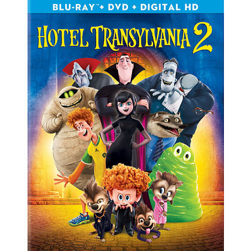 Hotel Transylvania 2 Blu-Ray Combo Pack (Blu-Ray/DVD/Digital HD)