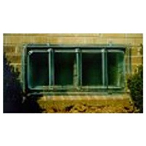MacCourt Window Well Cover W3616 Type J Basement Rectangular