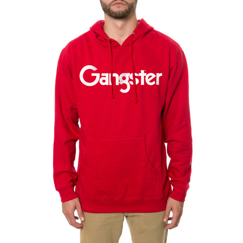 The Gangster MF Hoodie in Red