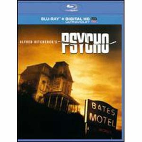 Psycho [Includes Digital Copy] [UltraViolet] [Blu-ray] B&W/WSE DD2/DHMA/DTS