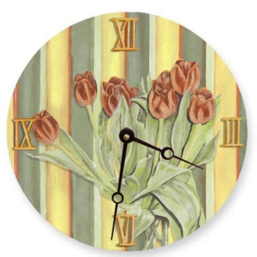 Lexington Studios 18'' Tulip Wall Clock