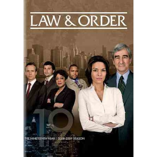 Law & Order: The Nineteenth Year [Law & Order: The Nineteenth Year (DVD)]