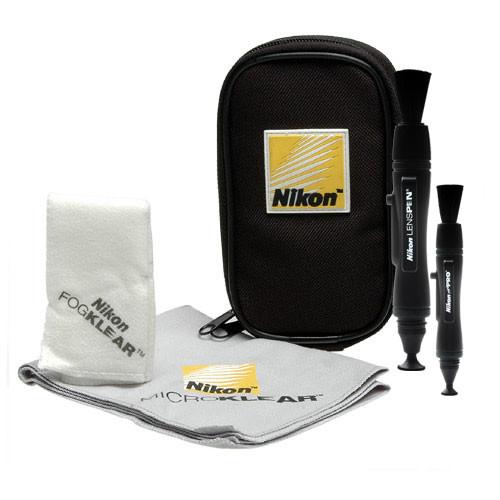 Nikon 1558-kit-91546 D5 Digital SLR Camera Body (Dual CF Slots) with Microphone + LED Video Light + GPS Unit + Kit