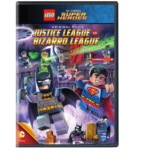 Lego DC Comics Super Heroes: Justice League vs. Bizarro League (DVD)