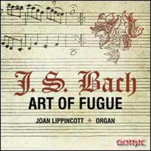 Bach: Art of Fugue By Joan Lippincott (Audio CD)