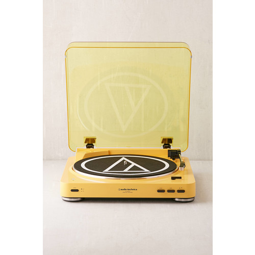 Audio-Technica X UO Mellow Yellow AT-LP60 Bluetooth Record Player [REGULAR]