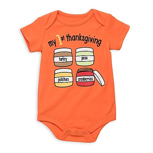 Baby Starters Babies with Attitude Size 6M My First Thanksgiving