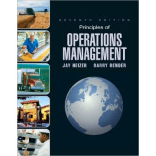 Principles of Operations Management + Student Cd + Student Dvd / Edition 7