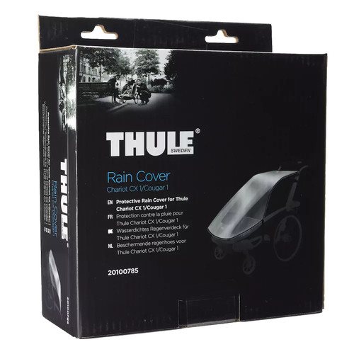 Thule Active with Kids Rain Cover - Chariot CX 1 and Cougar 1 Compatibility