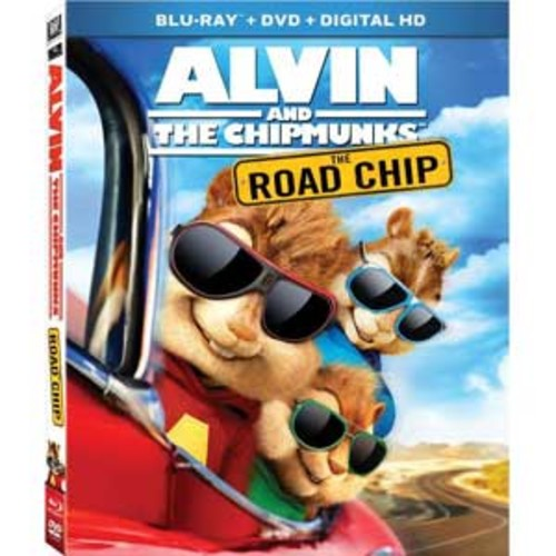 Alvin and the Chipmunks: The Road Chip [Blu-Ray] [DVD] [Digital HD]
