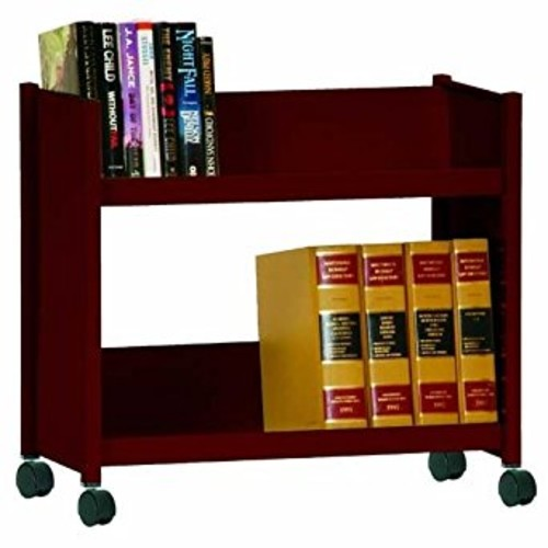 Sandusky Lee SR227-03 Sloped Shelf Welded Bookcase, 14