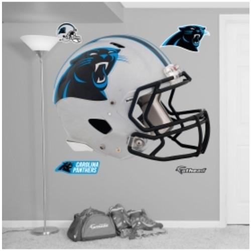 Fathead Carolina Panthers Helmet Logo Wall Graphic