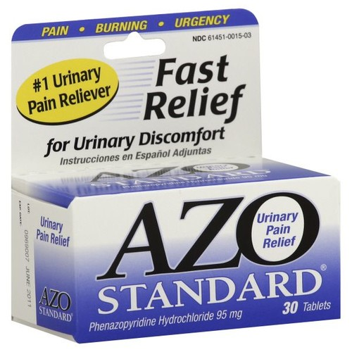 Azo Standard Urinary Pain Relief Tablets 30 tablets
