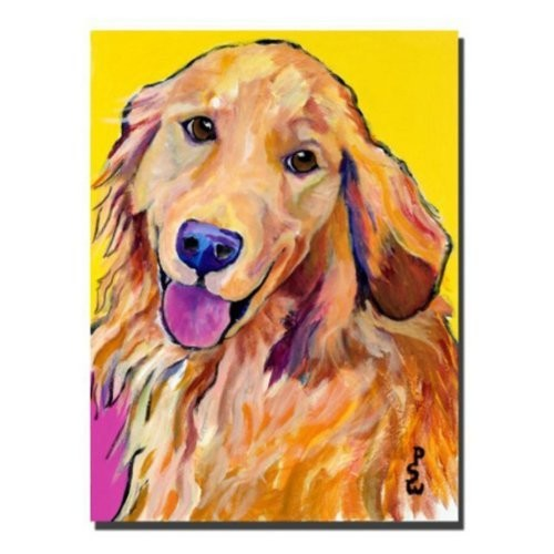 Molly by Pat Saunders-White, 18x24-Inch Canvas Wall Art [18 by 24-Inch]