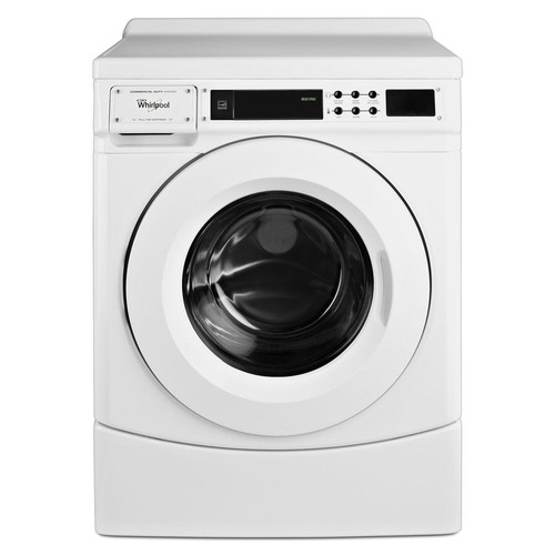 Whirlpool 3.1 cu. ft. Commercial Front Load Washer in White