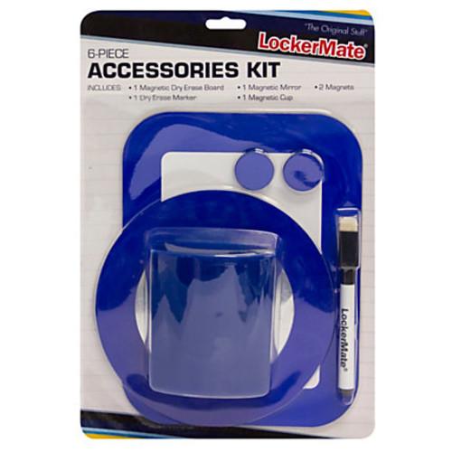 LockerMate Locker Accessory Kit, Blue